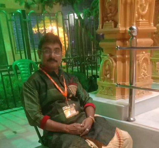 At Adi Guru Shankaracharya Temple